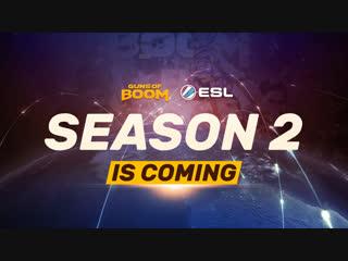 Guns of boom esl season 2 - global action!