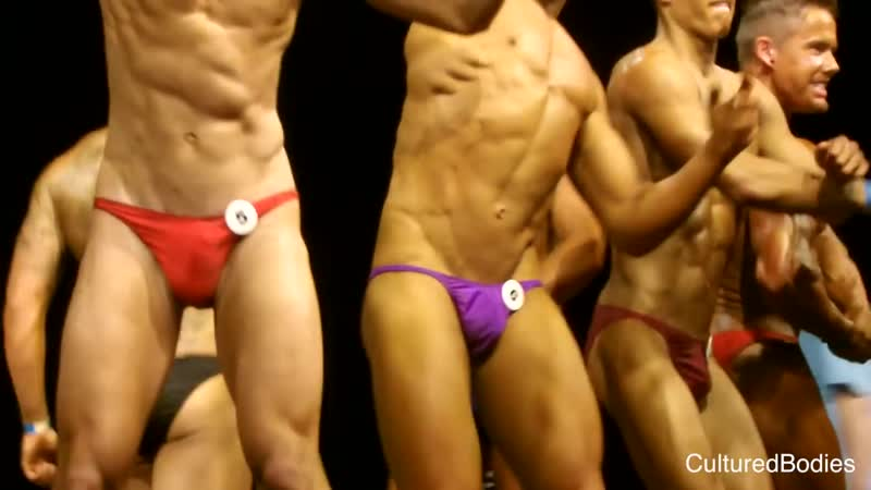 16-year-old bodybuilder overwhelmed at Mr Hampshire competition 14