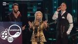 Sanremo 2019 - Patty Pravo, Briga e Giovanni Caccamo cantano