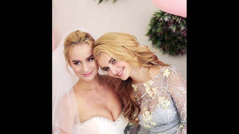 Съемки Девичника для @oliviasalon (Свадебные, вечерние, выпускные платья-Оливия СПб)