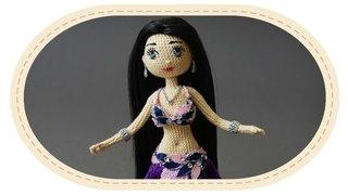 Восточный костюм для Виолетты. Belly dance outfit for Violetta.