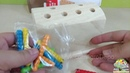 Магнитная рыбалка из сундучка с червяками Веселое монтессори Wooden toy Montessory Catch the worm