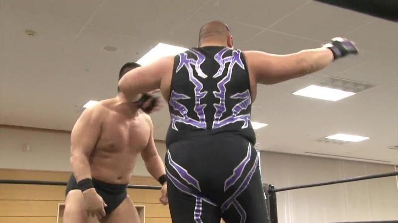 [My1] DDT Road To Ryogoku 2018: DAMNATION (Mad Paulie Nobuhiro Shimatani) vs. Sanshiro Takagi Tomomitsu Matsunaga