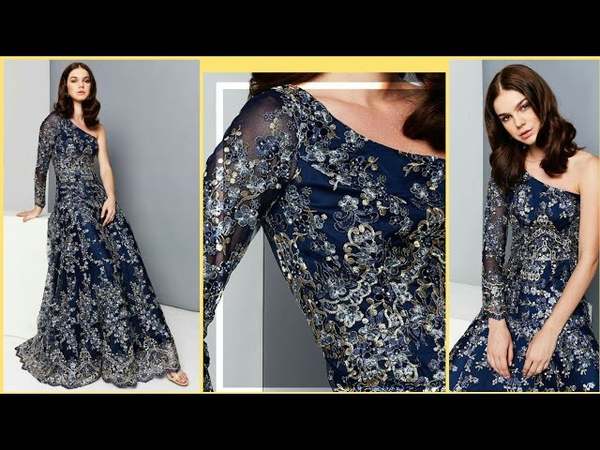 Latest Knee Length Evening Prom dresses By Alina Anwer
