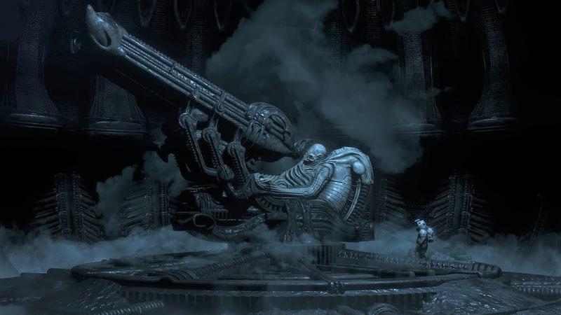 Alien Isolation - Исследование инопланетного корабля жокеев