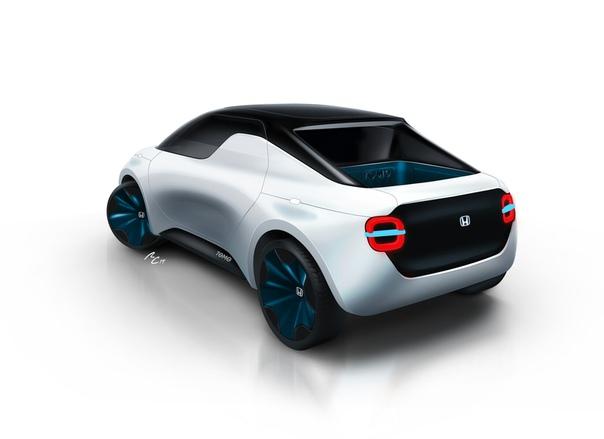 Istituto Europeo di Design и Honda представят на Женевском моторшоу концептуальный электропикап будущего