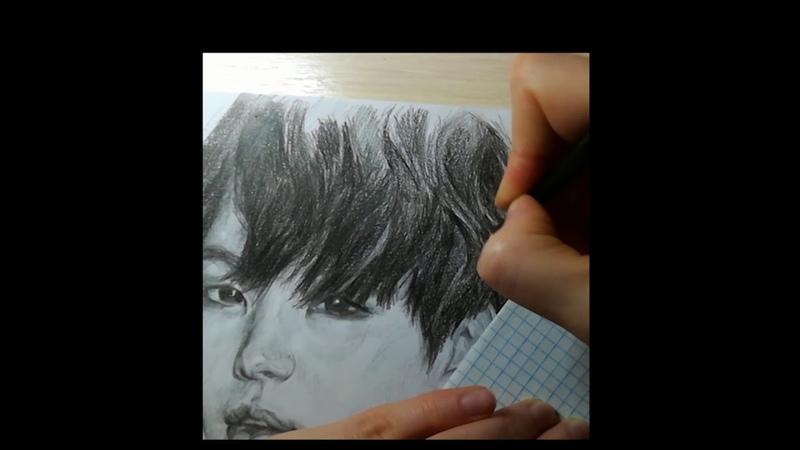 Поздравляем Шугу из BTS / Рисую Мин Юнги