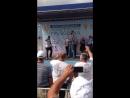 Вручение утешительного приза от транспортной компании ГЛК Карго на Всероссийском конкурсе Лучший водитель грузовика