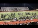 Выступление оркестра школы Chisholm Trail Hight School
