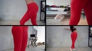 Лосины Bona Fide: Oy - Vsyo Leggins Red