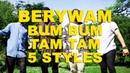 Berywam Bum Bum Tam Tam MC Fioti KondZilla In 5 Styles Beatbox