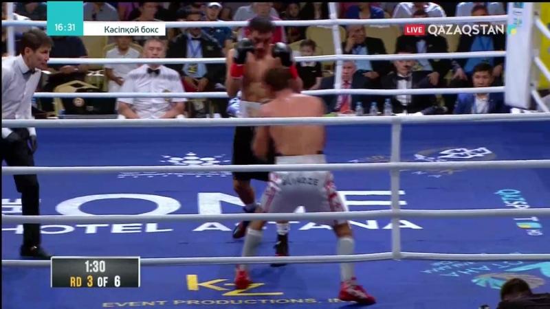 Бобиржан Моминов vs Гиорги Блиадзе (Bobirzhan Mominov vs Giorgi Bliadze) 07.07.2018
