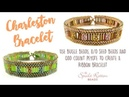 Charleston Bracelet - Odd Count Peyote Stitch