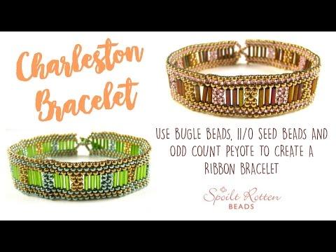 Charleston Bracelet - Odd Count Peyote Stitch