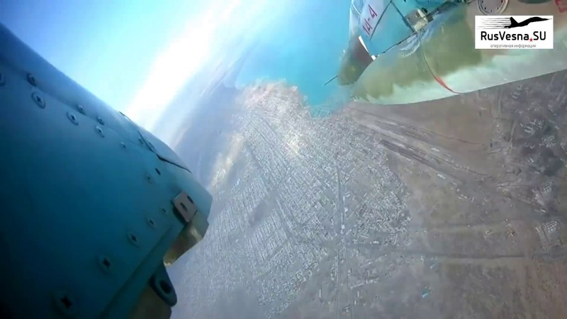 Экипажи штурмовиков Су-25 российской авиабазы Кант в Киргизии отработали удары по укреплениям условного противника на горном полигоне Эдельвейс