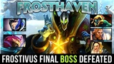 BEST STRATEGY FOR FROSTHAVEN !! NEW RECORD FIRST TIME FINAL BOSS DEFEATED !! FROSTIVUS 2018 Dota 2