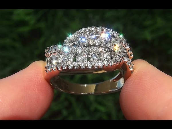 Estate Certified VS2G Natural Diamond 14k Yellow Gold Cocktail Anniversary Ring - C646