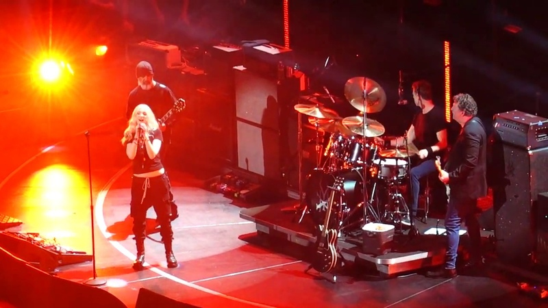 Soundgarden w/ Taylor Momsen - Rusty Cage - Chris Cornell Tribute Show on 1/16/19