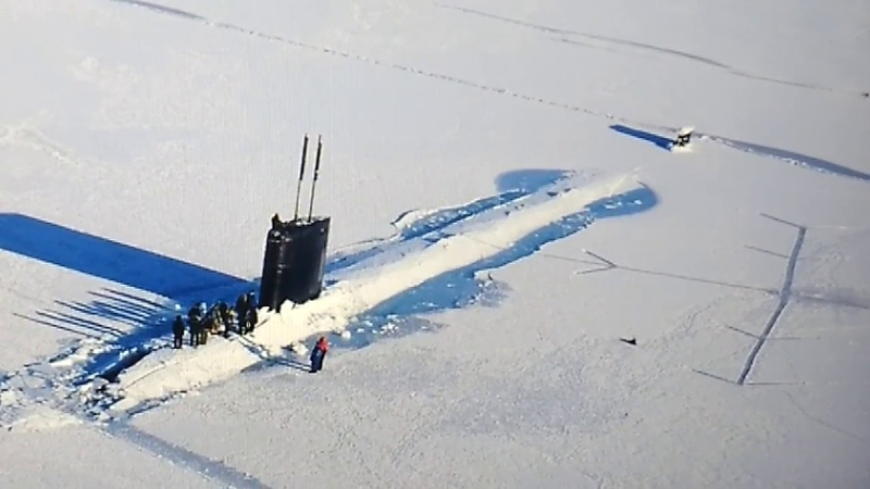 9-18~18* HIDDEN SUBMARINE UNCOVERED IN ANTARCTICA(!) GIANT'S ICE CAVE TOWER REVEALED(!)