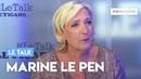 Le Talk de Marine Le Pen: «Les élections européennes vont être historiques»