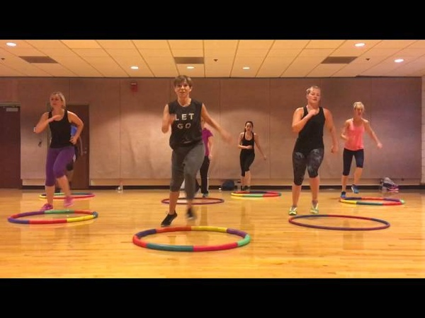 TOO ORIGINAL Major Lazer - Weighted Hula Hoop Dance Fitness Workout