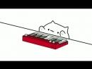 Jerk it out bongo cat meme