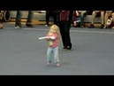 Toddler Winter Guard surprise