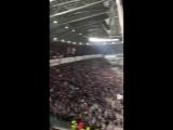 Аплодисменты болельщиков Ювентуса к голу Криштиану Роналду через себя