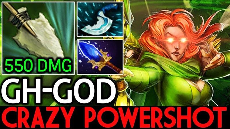 GH-God [Windranger] Crazy Powershot 550 DMG 7.16 Dota 2
