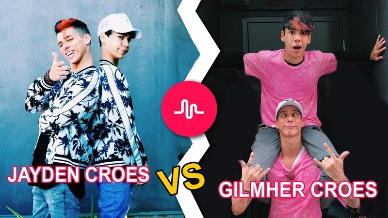 Musical.ly Battle Musers - GIL CROES Vs JAY CROES Musicallys Compilation