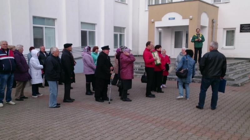 Дружеский визит отдыхающих в санаторий Нарочь 07.10.2018 (часть 1)