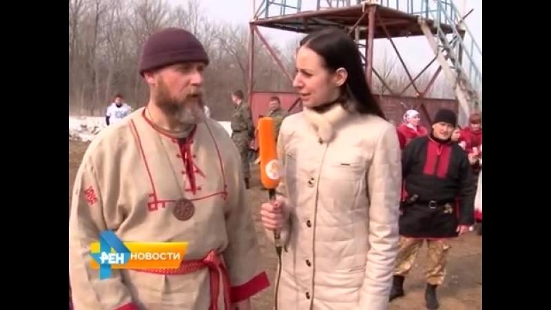 В Саратове отметили народный славянский праздник Комоедицу 24 03 2015