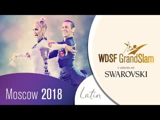 Wdsf grandslam moscow latin 1/2 (final)