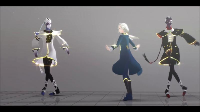 MMD Identity v :: shake it :: [Model DL : 2 Day]
