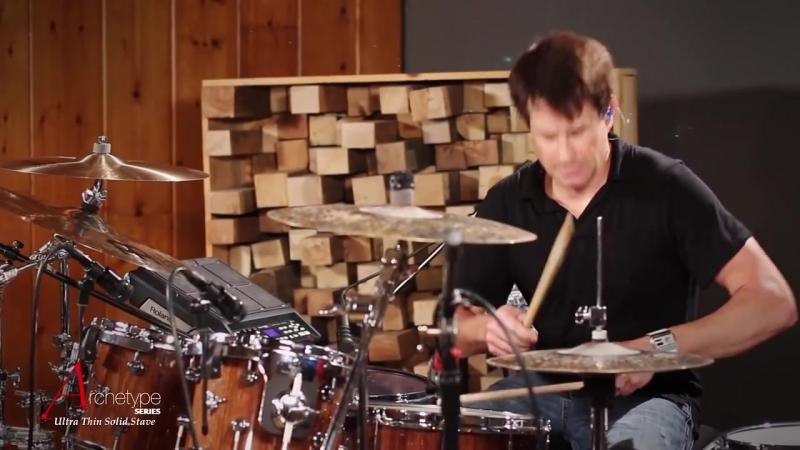 Johnny Rabb Drum Solo 2 on Hendrix Drums Archetype Stave Walnut Acoustic Drum Kit Set
