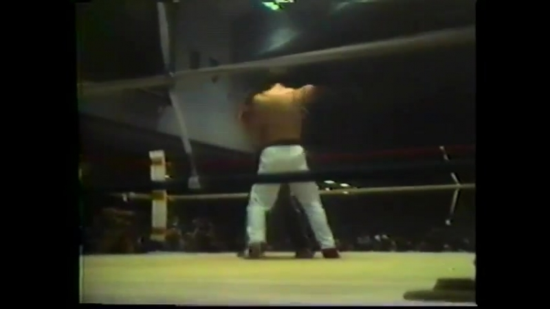 Jean Yves Theriault vs Kerry Roop second fight 4 1979