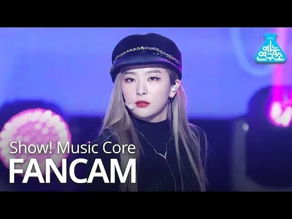 [예능연구소 직캠] Red Velvet - Really Bad Boy (SEULGI), 레드벨벳 - RBB (슬기) @Show Music Core 20181215