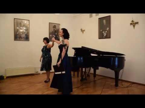 А.Шёнберг Песни кабаре - Наира Асриян (меццо-сопрано), Анна Крымская (фортепиано). Live