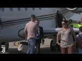 Криштиану Роналду прибыл в Турин | vk.com/worldfbl