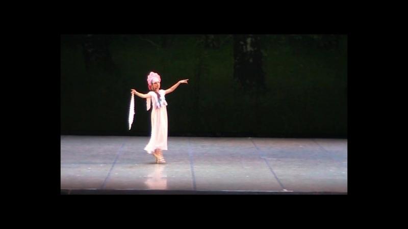 Отчетный концерт 16 апреля 2018. Театр Оперы и Балета. Ступени. Варвара Клёнова. Русский танец.