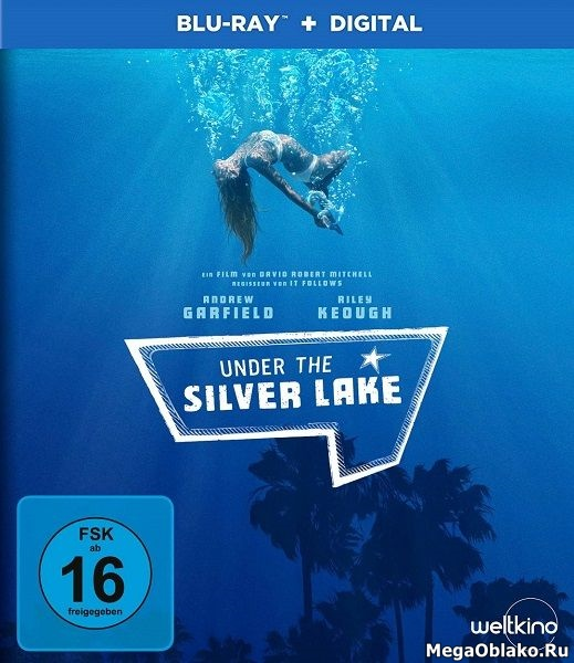 Под Сильвер-Лэйк / Under the Silver Lake (2018/BDRip/HDRip)
