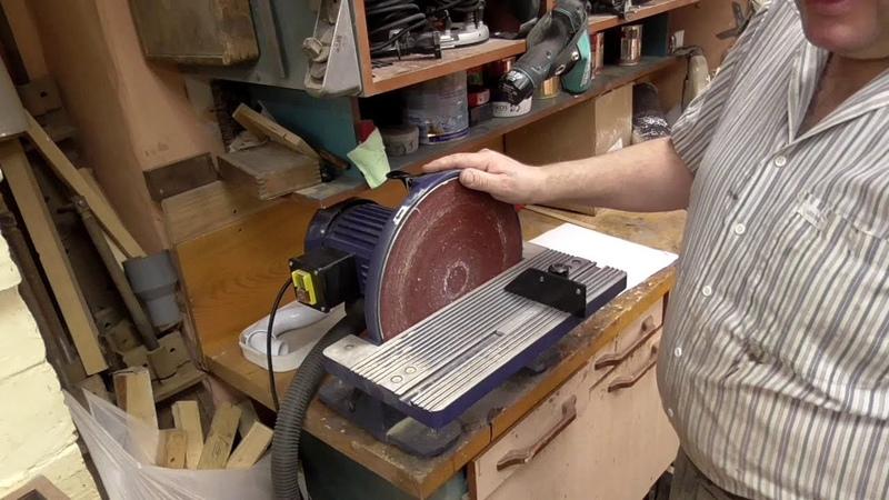 Кратон дисковый шлифовальный станок