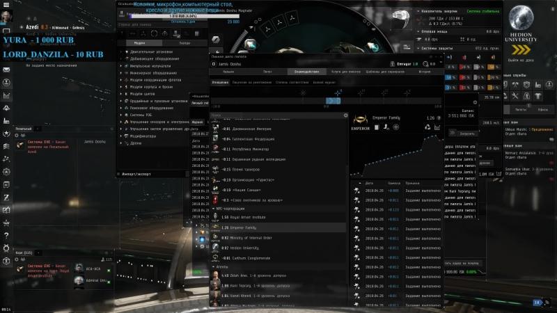 [RU] EVE Online Альфа Строитель 005 Л2 курьерки. Осилим