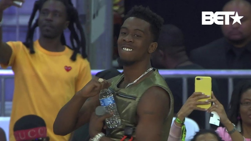 Desiigner Performs Panda, Timmy Turner, more at BETX Celebrity Basketball Game Presented By Sprite