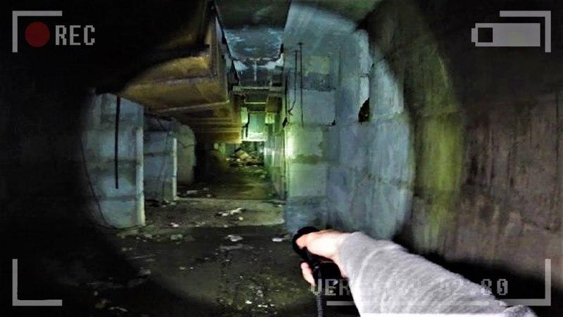 Жуткий подвал как МедСанЧасть 126 в Припяти. На нас напали в подземелье