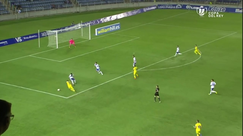 CD Тенерифе - Калис CF, 1-2, Кубок Испании 2018-2019, 2 раунд