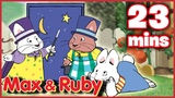 Max &amp Ruby Ruby's Lemonade Stand Ruby's Rummage Sale Ruby's Magic Act - Ep. 12