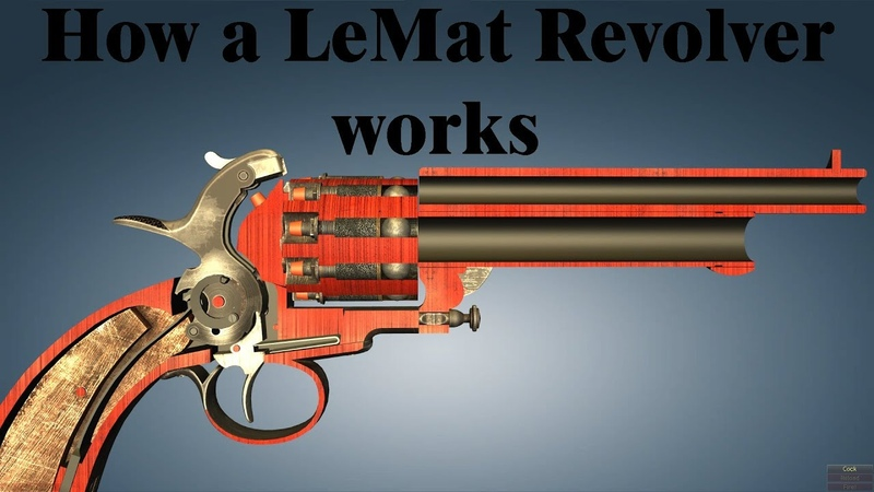 How a LeMat Revolver works