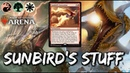 Sunbrid's Naya Stuff MTG Arena Sunbird's Invocation Deck in M19 Standard
