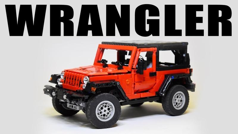 Lego Technic Jeep Wrangler Rubicon with SBrick